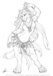 Fatin's Dance by Goldenwolf