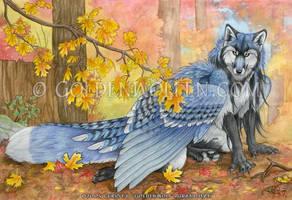 Autumn Jester by Goldenwolf