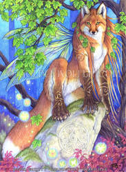 Sionnach Sidhe by Goldenwolf