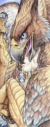 Topaz Gryphon by Goldenwolf