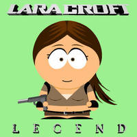 South Park Legend Lara by Badty92