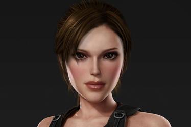 Lara Croft makeover by Badty92