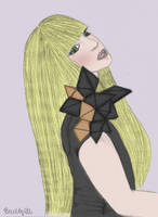 Lady Gaga drawing by Badty92