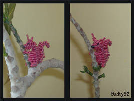 Beaded squirrel by Badty92