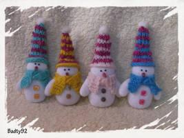 Snowmen by Badty92