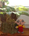 Stewie Griffin amigurumi by Badty92