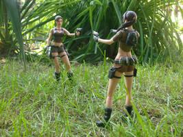 Lara vs. Lara by Badty92