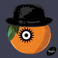 Clockwork Orange by StrayCatGraphics