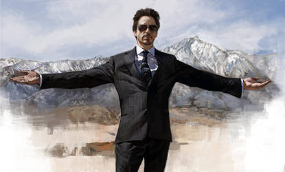 Iron Man by White-corner