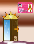 PCA: Hayate's Door and Card by RubyCosmos