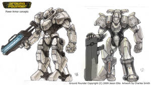 GP Power Armor Ideas by Galiford