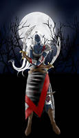 Drow assasin - collab by Shukria