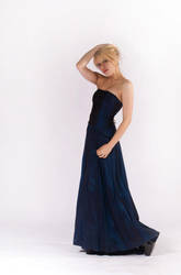 Blue Dress by BlondeinTokyo