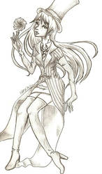 Madam Onceler Sketch by XippyRin