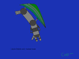 Lukra's robotic arm, combat mode by raja1057