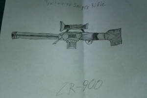 ZR-900 (Tractainian Sniper Rifle) by raja1057