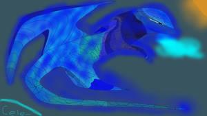 Selina the royal Dragon of Ice by raja1057