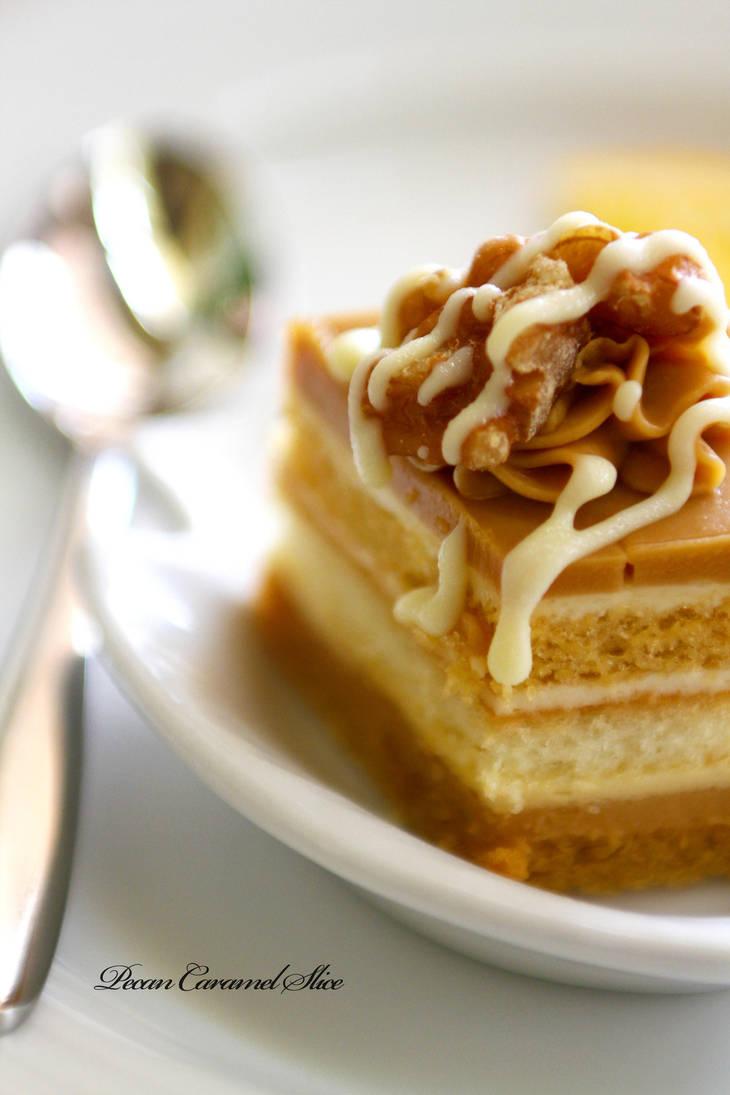 Pecan Caramel Slice by Foodtrip