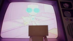 A -cardboard- robot's tale II by x-3