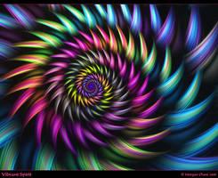 Vibrant Spirit-Gift Art by Alterren
