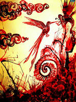 Vampiric Little Horror by HieronyusBerruecos