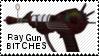 Ray gun stamp by muddyputty
