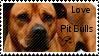 Pit bull stamp by muddyputty