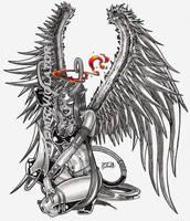 Satan 666 by AtomicViolator