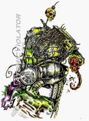 Predator 2 color by B. Rickett by AtomicViolator