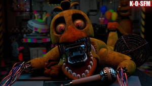 UCN: W.CHICA JUMPSCARE (fanmade) by K-O-SFM