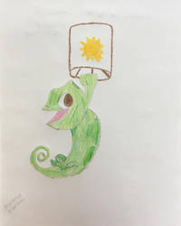 Pascal From Tangled by josephinedisney