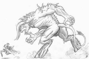 Raging Beast by TheMightyGorga