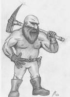 Dwarf by TheMightyGorga
