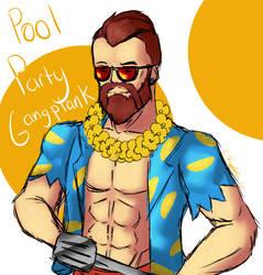 Pool Party GP Doodle by NikBarinova