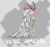 Blooodborne - Vicar Amelia by anniebobannie