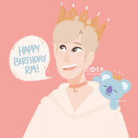 Happy Namjoon Day 2018 by Capramare