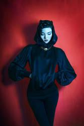 The Black Cat by xBassxHarmingx