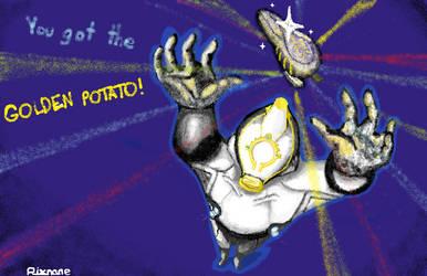 Excalibur Prime Potato Airbrush Contest by Rixnane