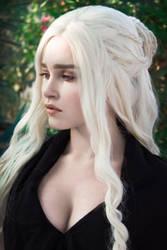 Daenerys Targaryen Game of Thrones S6 E10 by Sladkoslava