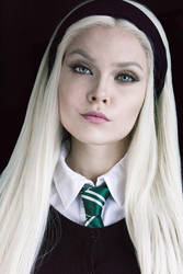 Draco Malfoy Harry Potter cosplay by Sladkoslava