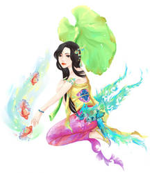 Water Melody by Hikoneki