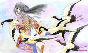Kimono's life by Hikoneki