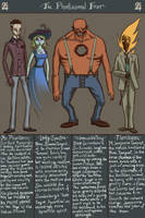 The Phantasmal Four by genesischant