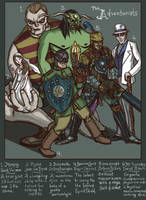The Adventurists by genesischant