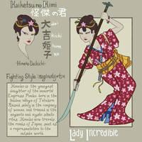 Chambara JLA: Wonder Woman by genesischant