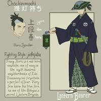 Chambara JLA: Green Lantern by genesischant