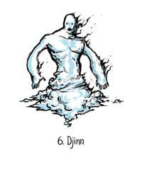 Djinn by genesischant