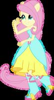 Fluttershy Dance Dress UPDATE V2 by Sugar-Loop