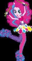 V2 Rainbow Rocks Pinkie Pie Vector by Sugar-Loop
