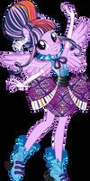 Rockin' Hair Twilight Sparkle Vector by Sugar-Loop